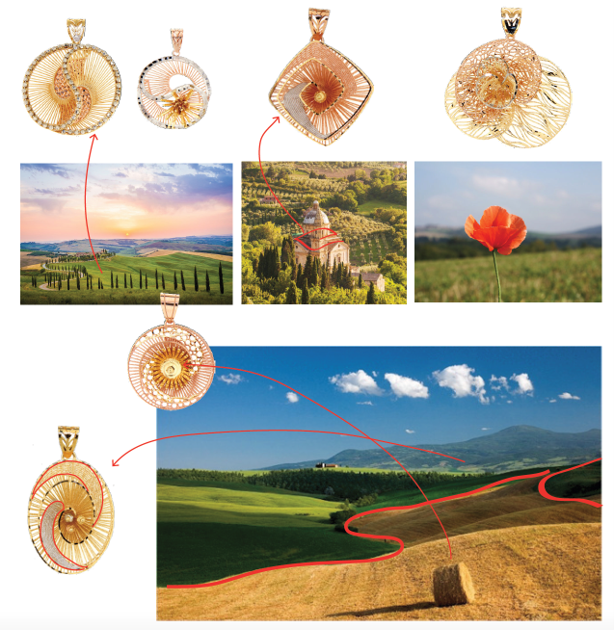 Wheat fields collection